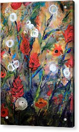 Our Wish Is Simple Acrylic Print by Mary C Farrenkopf