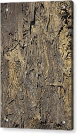 Out Door Ply Wood Tatter Floor  Acrylic Print by Sirron Kyles