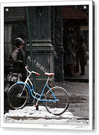 Out For An Ice Ride Acrylic Print by Lar Matre