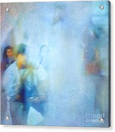 Out-of-focus Acrylic Print by VIAINA Visual Artist