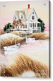 Outer Banks Summer Morning Acrylic Print by Michelle Wiarda