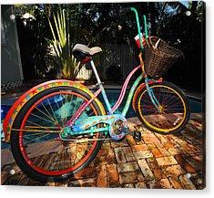 Outrageous Bike Acrylic Print by Rob O'Neal