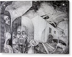 Outskirts Of Necropolis Acrylic Print by Otto Rapp