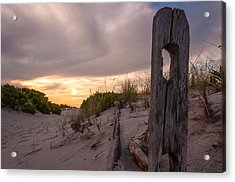 Over The Dunes Acrylic Print by Kristopher Schoenleber