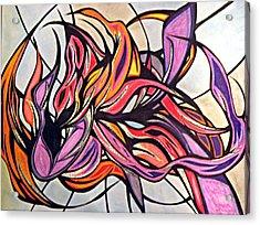 Overwhelmed Acrylic Print by Tara Francoise