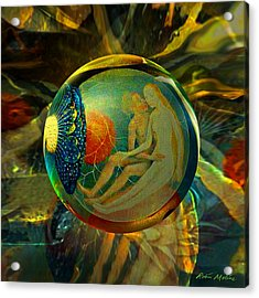 Ovule Of Eden  Acrylic Print by Robin Moline