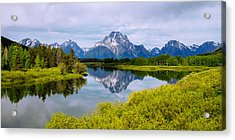 Oxbow Summer Acrylic Print by Chad Dutson