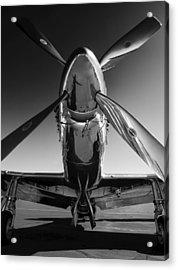 P-51 Mustang Acrylic Print by John Hamlon