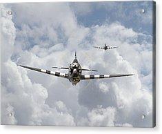 P47 D - Thunderbolt Acrylic Print by Pat Speirs