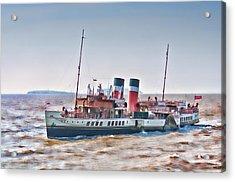 Paddle Steamer Waverley Acrylic Print by Steve Purnell