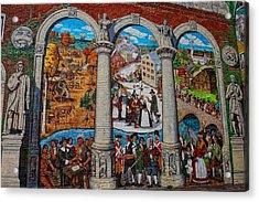 Painted History 2 Acrylic Print by Joann Vitali