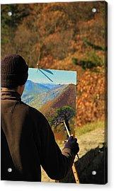 Painting Shenandoah Acrylic Print by Dan Sproul