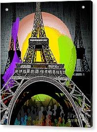 Paree Acrylic Print by Reggie Duffie