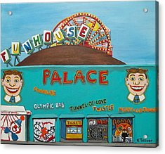 Palace Amusements II Acrylic Print by Norma Tolliver