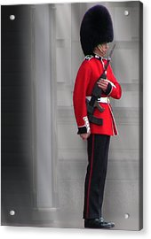 Palace Guard Acrylic Print by William Howard