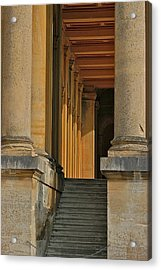 Palace Step Acrylic Print by Joseph Yarbrough