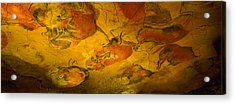 Paleolithic Paintings, Altamira Cave Acrylic Print by Panoramic Images