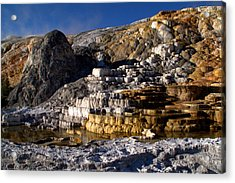 Palette Spring Terrace Acrylic Print by Brian Harig