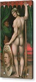 Pallas Athena Acrylic Print by Fontainebleau School