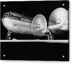 Pan American Boeing 377 Acrylic Print by Underwood Archives