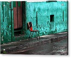 Panama Red Acrylic Print by John Rizzuto