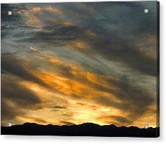 Panamint Sunset Acrylic Print by Joe Schofield