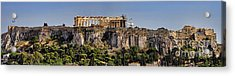 Panorama Of The Acropolis In Athens Acrylic Print by David Smith