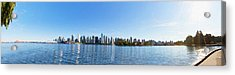 Panorama Of Vancouver Harbor Acrylic Print by Jodi Jacobson