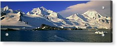 Panoramic View Of Ecological Tourists Acrylic Print by Panoramic Images