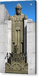 Pantages Theater Detail Acrylic Print by Gregory Dyer