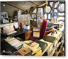 Paolo Soleri's Office I Acrylic Print by Diane Wood