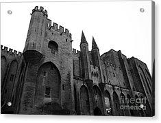 Papal Palace Acrylic Print by John Rizzuto