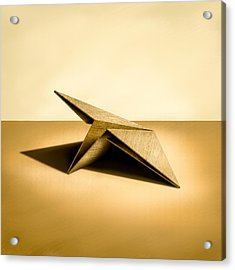 Paper Airplanes Of Wood 7 Acrylic Print by Yo Pedro