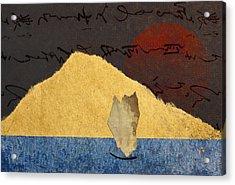 Paper Sail Acrylic Print by Carol Leigh