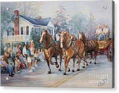 Parade Acrylic Print by Linda Hall