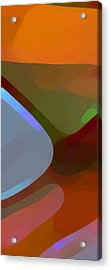 Paradise Found 1 Panel A Acrylic Print by Amy Vangsgard