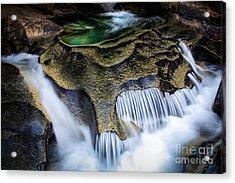 Paradise Rocks Acrylic Print by Inge Johnsson