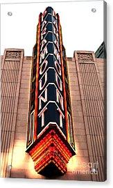Paramount Acrylic Print by John Rizzuto