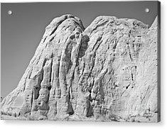 Paria Utah X Acrylic Print by Dave Gordon
