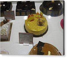 Paris France - Pastries - 1212166 Acrylic Print by DC Photographer