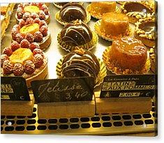 Paris France - Pastries - 121232 Acrylic Print by DC Photographer