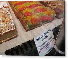 Paris France - Pastries - 121251 Acrylic Print by DC Photographer