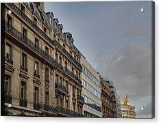 Paris France - Street Scenes - 0113101 Acrylic Print by DC Photographer