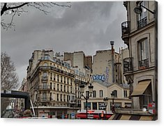 Paris France - Street Scenes - 0113137 Acrylic Print by DC Photographer