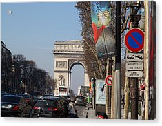 Paris France - Street Scenes - 011322 Acrylic Print by DC Photographer