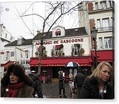 Paris France - Street Scenes - 121232 Acrylic Print by DC Photographer