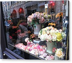 Paris France - Street Scenes - 121237 Acrylic Print by DC Photographer