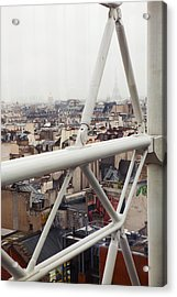 Paris Geometry 2 Acrylic Print by Art Ferrier