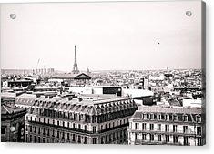 Paris In The Afternoon Acrylic Print by Vivienne Gucwa