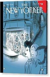 Paris, November 2015 Acrylic Print by Charles Berberian